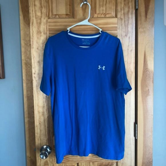Men's Blue Under Armour Tshirt Size Large